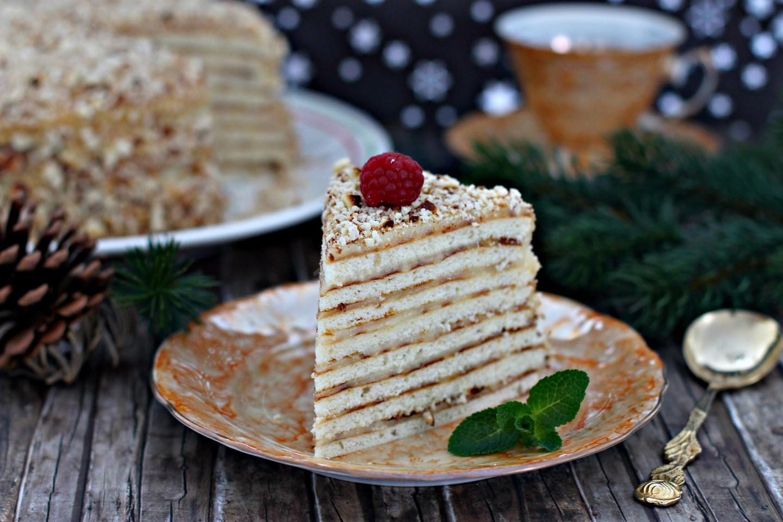 Торт на сковороде рецепт с фото пошагово был