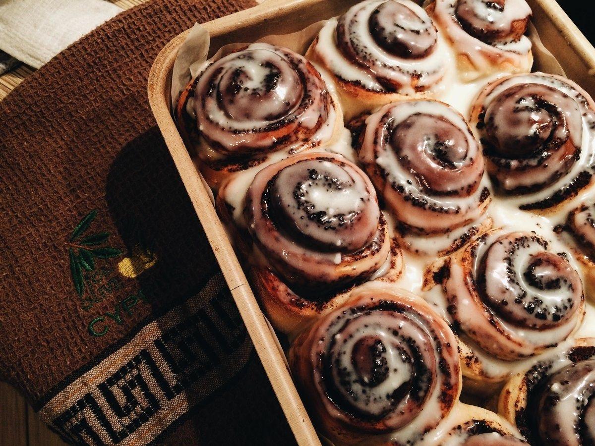 Улитка с сахаром и маком, или булочка Синнабон – любовь детей, взрослых и истинных ценителей высокой кухни