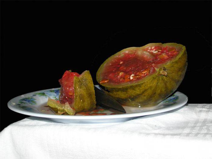 моченые арбузы в бочке рецепт